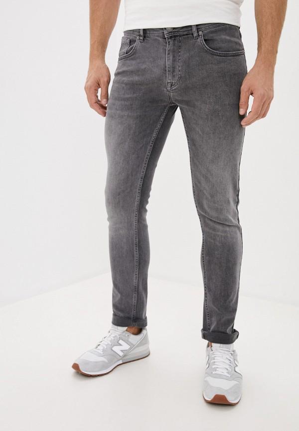 мужские прямые джинсы jimmy sanders, серые