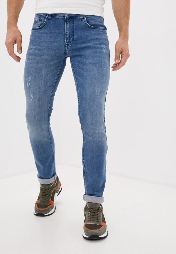 мужские прямые джинсы jimmy sanders, синие