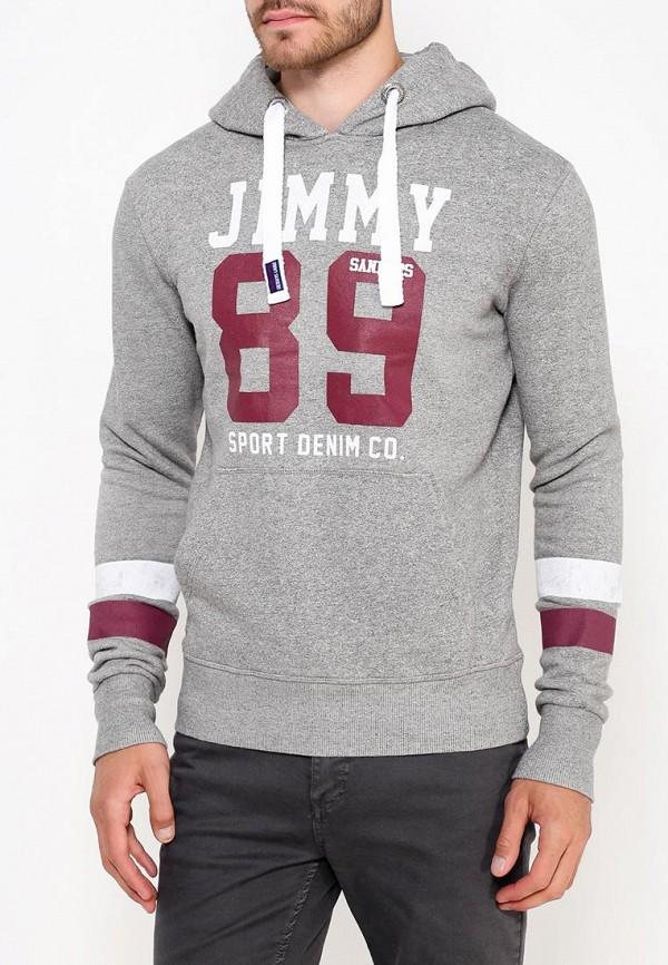 Купить Худи Jimmy Sanders, JI006EMVWD87, серый, Осень-зима 2018/2019