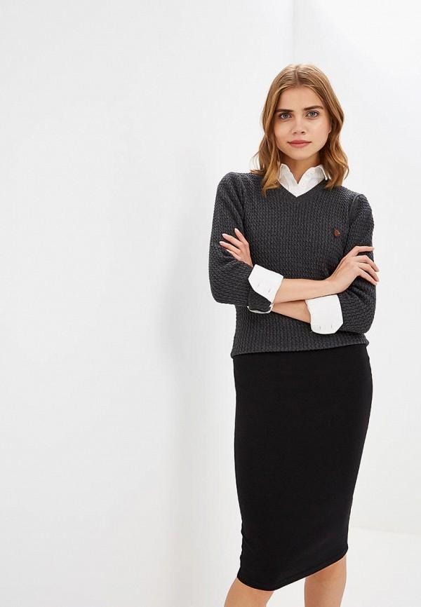 Купить Пуловер Jimmy Sanders, JI006EWCIQG6, серый, Осень-зима 2018/2019