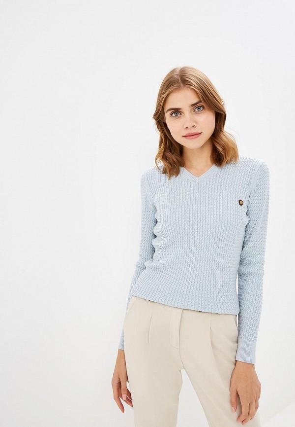 Купить Пуловер Jimmy Sanders, ji006ewciqg7, голубой, Осень-зима 2018/2019
