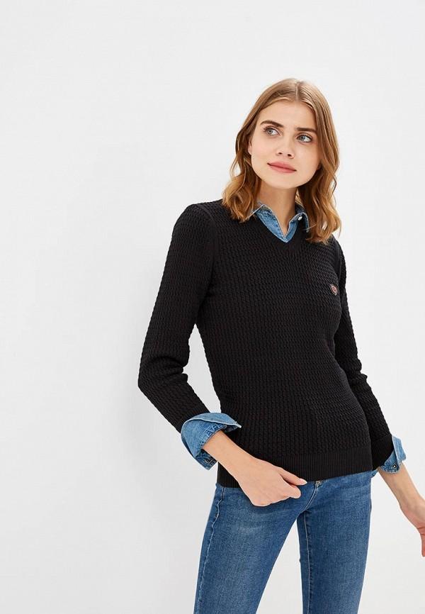 Пуловер Jimmy Sanders, JI006EWCIQG8, черный, Осень-зима 2018/2019  - купить со скидкой