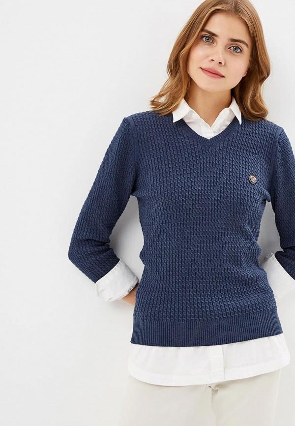 Купить Пуловер Jimmy Sanders, JI006EWCIQH1, синий, Осень-зима 2018/2019