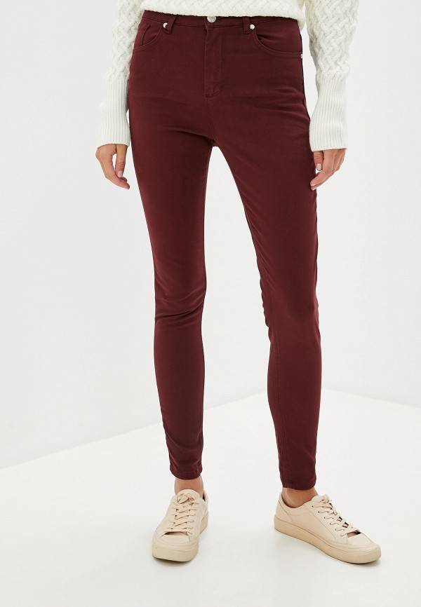 женские повседневные брюки jimmy sanders, бордовые