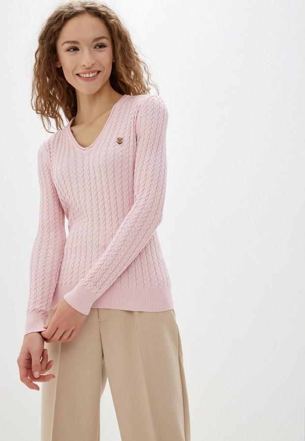 женский пуловер jimmy sanders, розовый