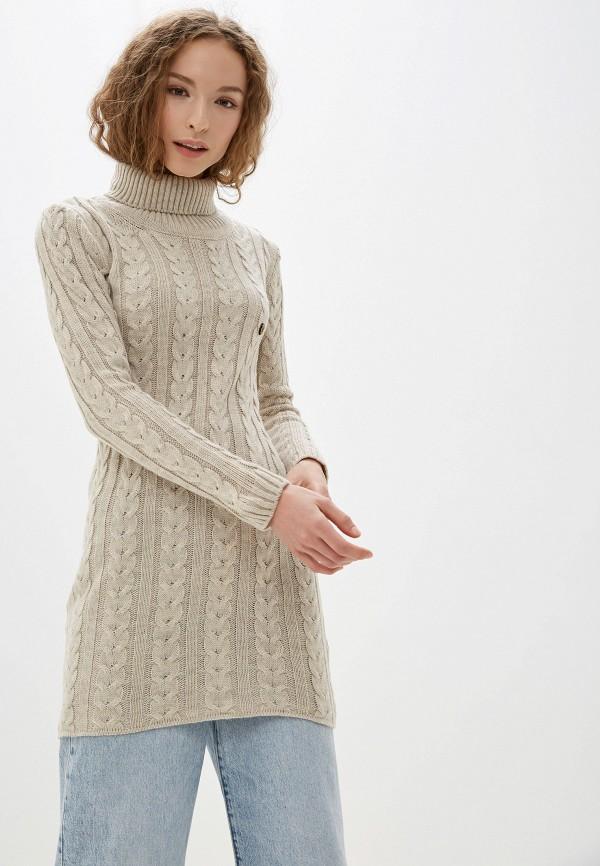 женский свитер jimmy sanders, бежевый