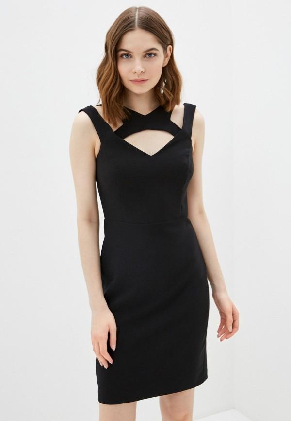 женское платье-футляр jimmy sanders, черное