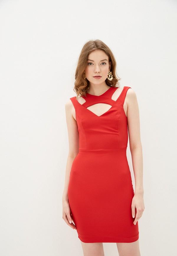 женское повседневные платье jimmy sanders, красное