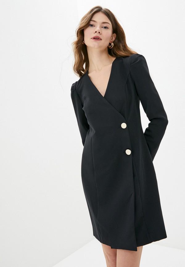 женское платье jimmy sanders, черное