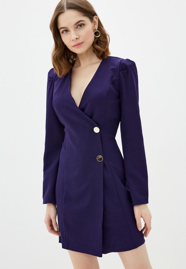 женское платье jimmy sanders, фиолетовое