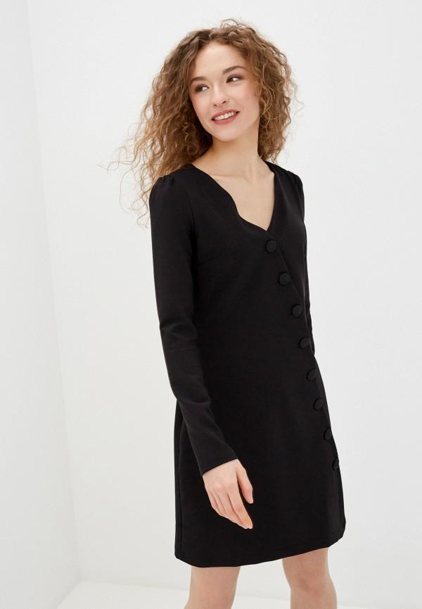 женское повседневные платье jimmy sanders, черное