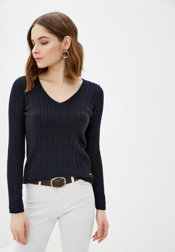 женский пуловер jimmy sanders, синий