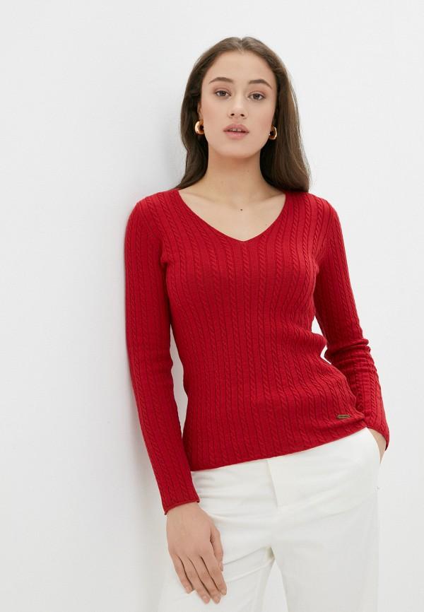 женский пуловер jimmy sanders, красный
