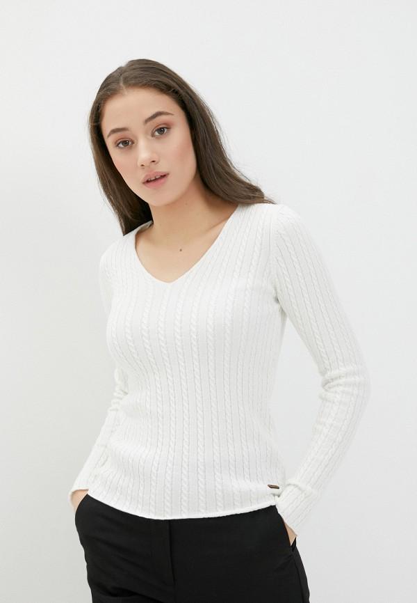 женский пуловер jimmy sanders, белый