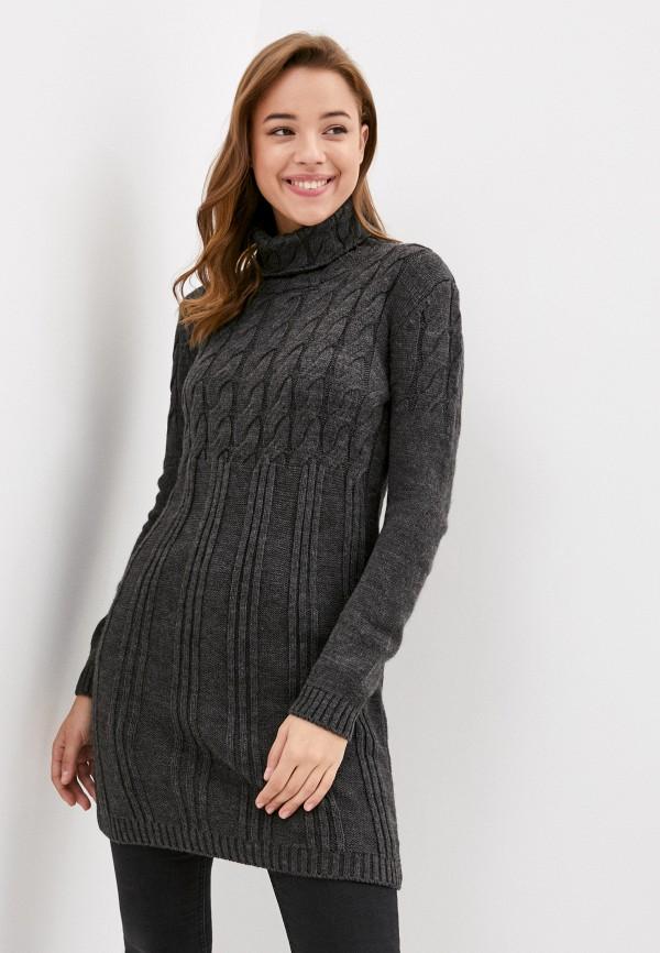 женское платье jimmy sanders, серое