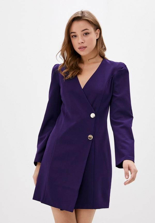 женское повседневные платье jimmy sanders, фиолетовое