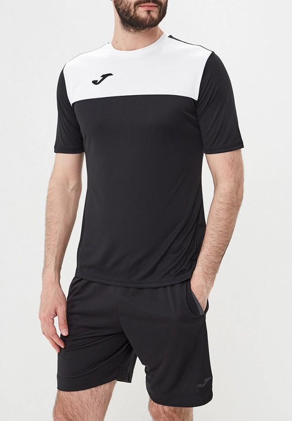 мужская футболка joma, черная