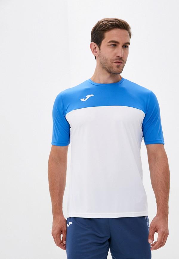 мужская футболка joma, белая