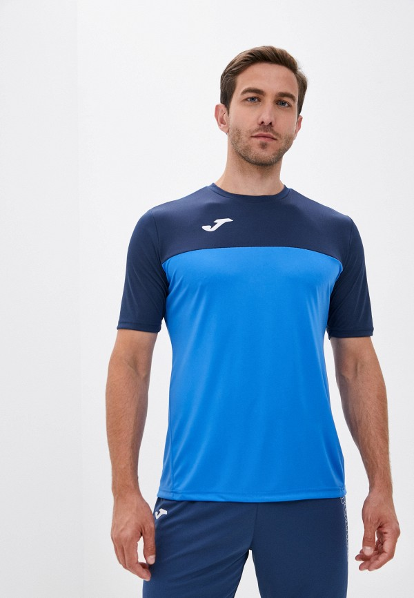 мужская футболка joma, синяя