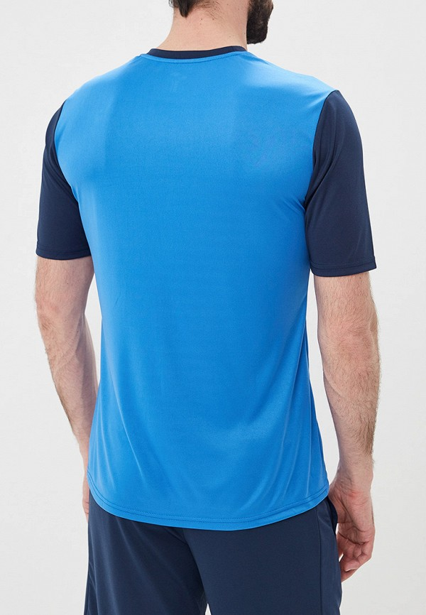 Фото 3 - мужскую футболку Joma синего цвета