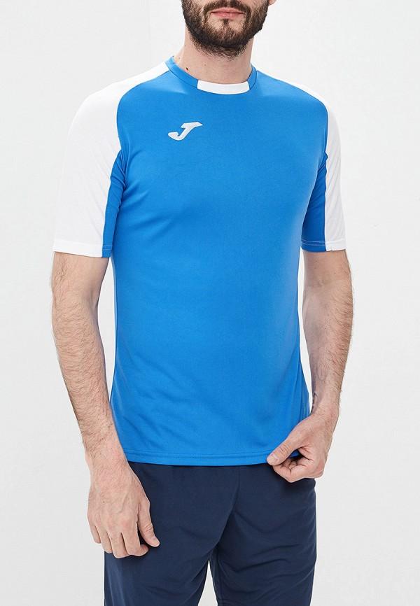 мужская футболка joma, голубая
