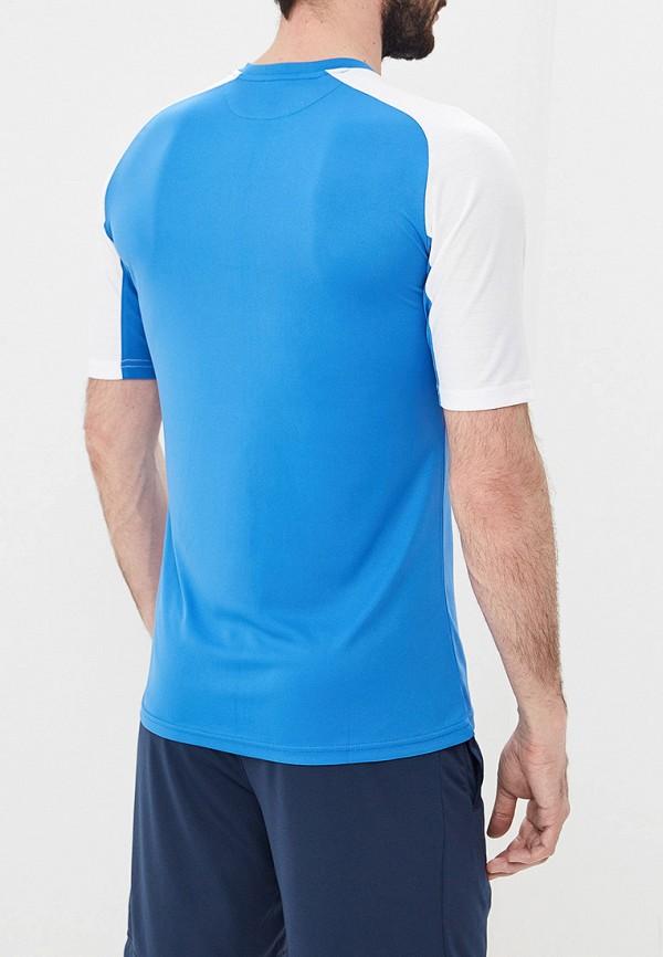 Фото 3 - мужскую футболку Joma голубого цвета