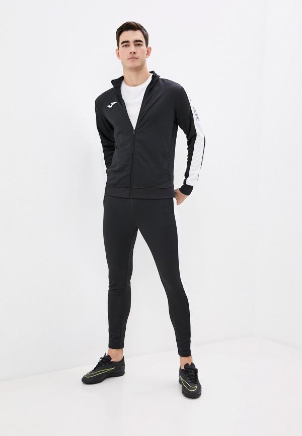 мужской спортивный костюм joma, черный