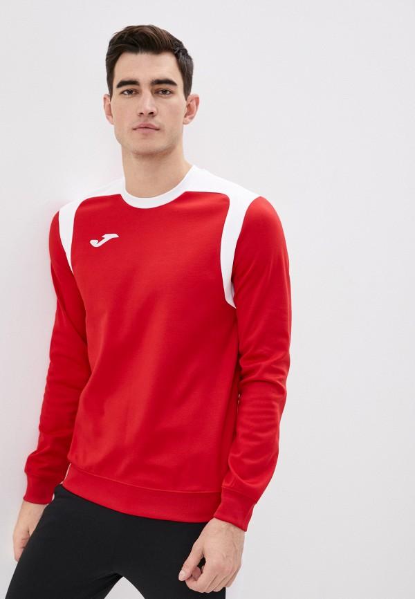мужской свитшот joma, красный
