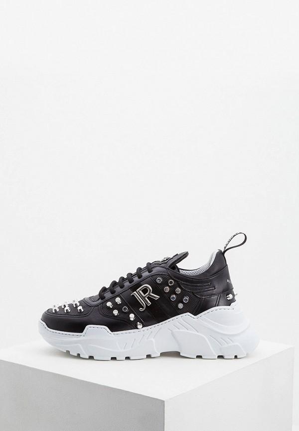 Купить Низкие кроссовки, Кроссовки John Richmond, jo003amejmv5, черный, Весна-лето 2019