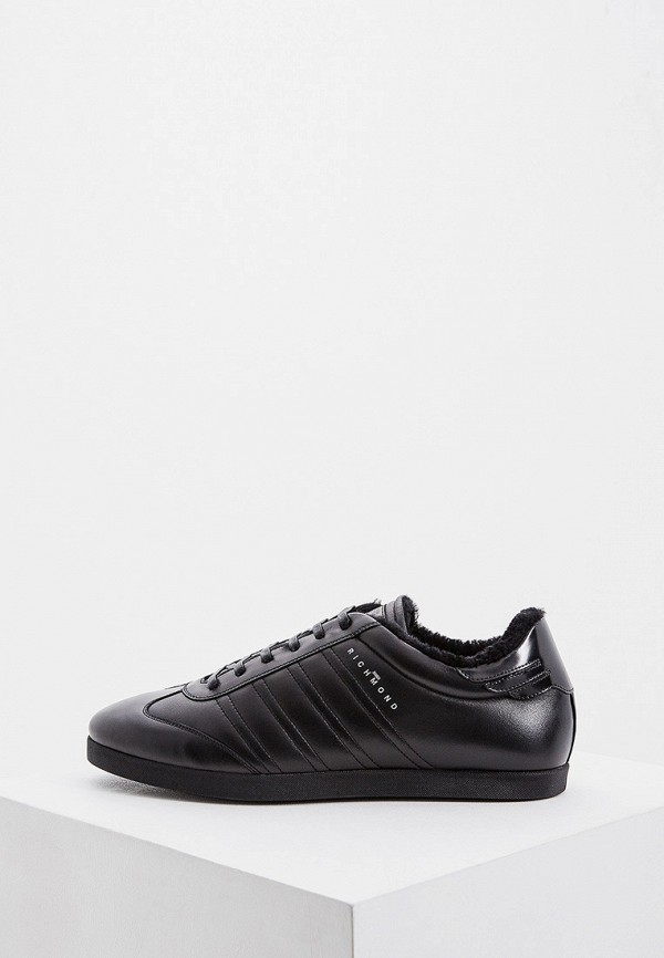 мужские низкие кроссовки john richmond, черные