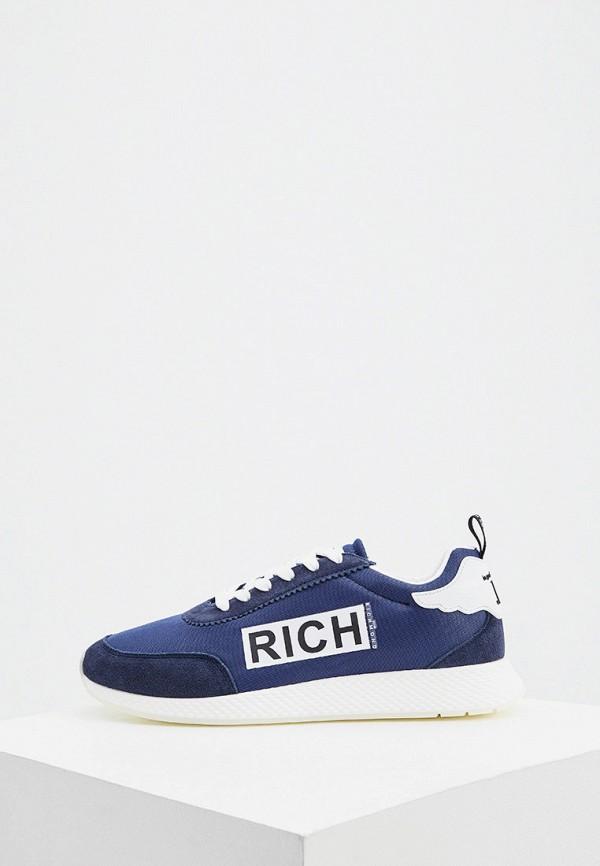 мужские низкие кроссовки john richmond, синие