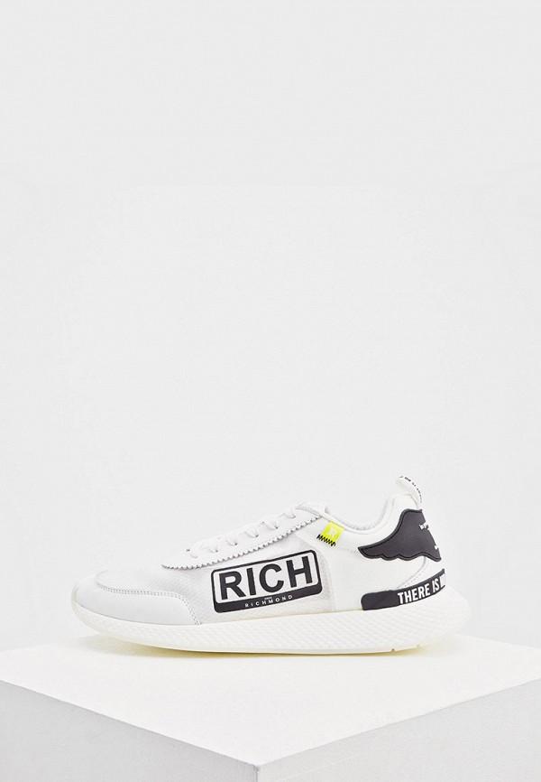 мужские низкие кроссовки john richmond, белые