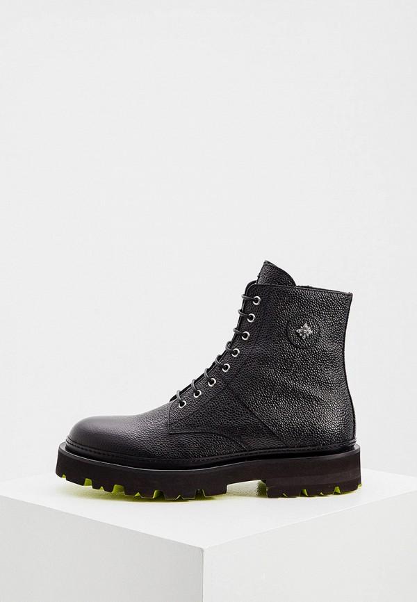 мужские ботинки john richmond, черные