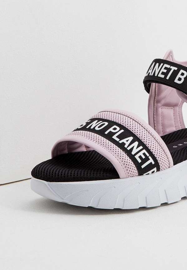 Фото 4 - женские сандали John Richmond розового цвета