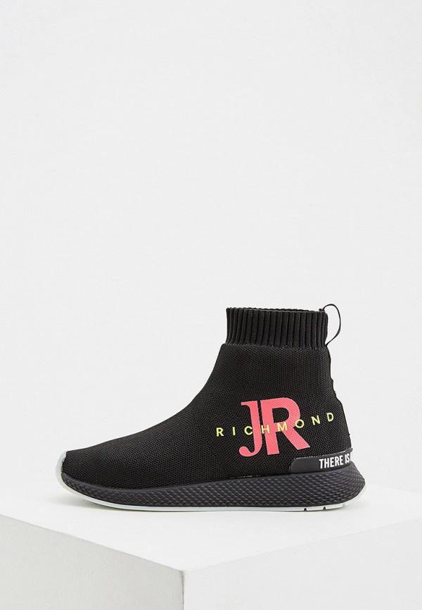 женские высокие кроссовки john richmond, черные