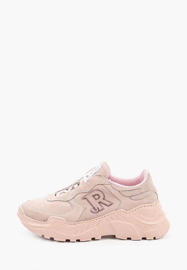 женские кроссовки john richmond, розовые
