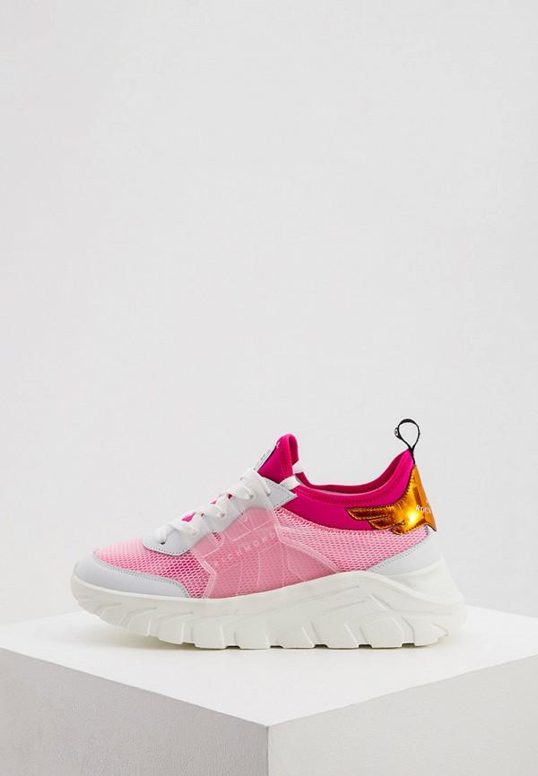 женские низкие кроссовки john richmond, розовые