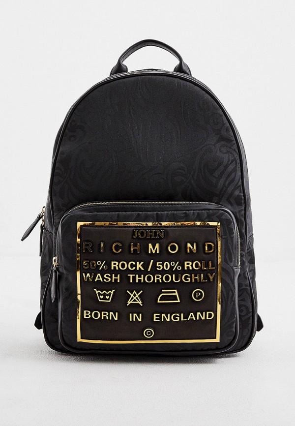 мужской рюкзак john richmond, черный