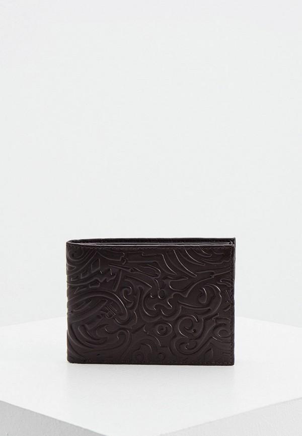 мужской кошелёк john richmond, коричневый