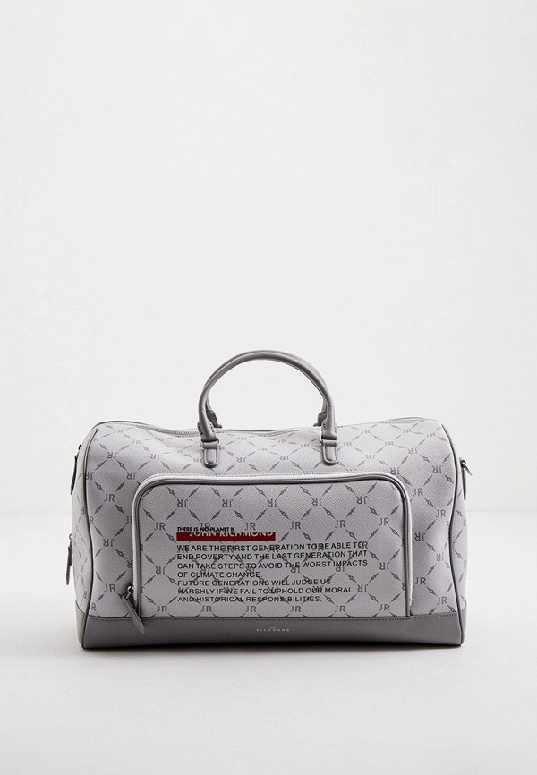 мужская сумка john richmond, серая