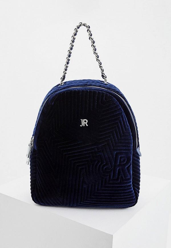 женский рюкзак john richmond, синий
