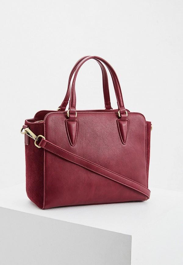 Фото 2 - женскую сумку John Richmond бордового цвета