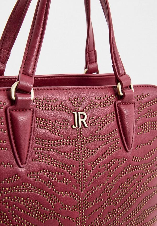 Фото 3 - женскую сумку John Richmond бордового цвета