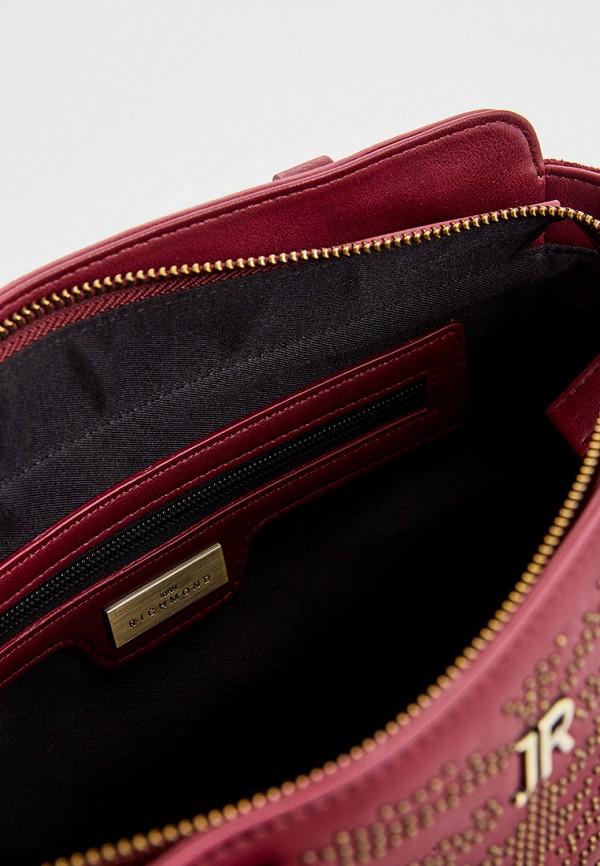 Фото 4 - женскую сумку John Richmond бордового цвета
