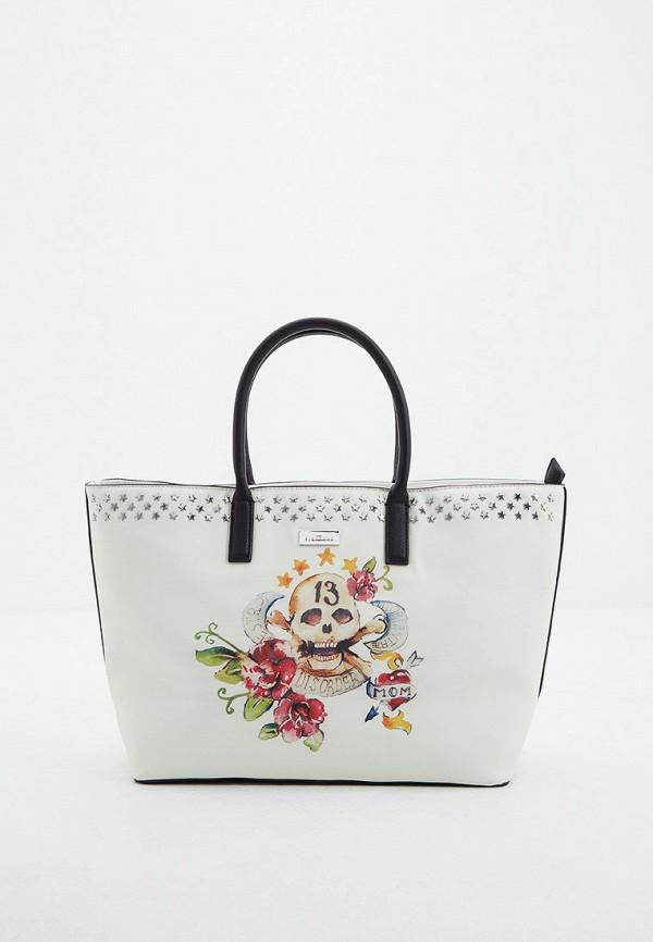 Фото - Женские сумки и аксессуары John Richmond белого цвета