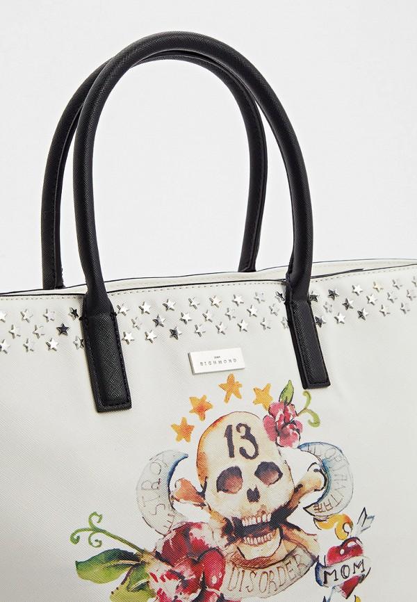 Фото 3 - Женские сумки и аксессуары John Richmond белого цвета
