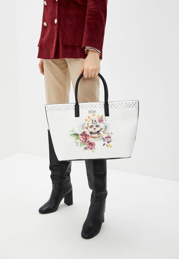 Фото 6 - Женские сумки и аксессуары John Richmond белого цвета