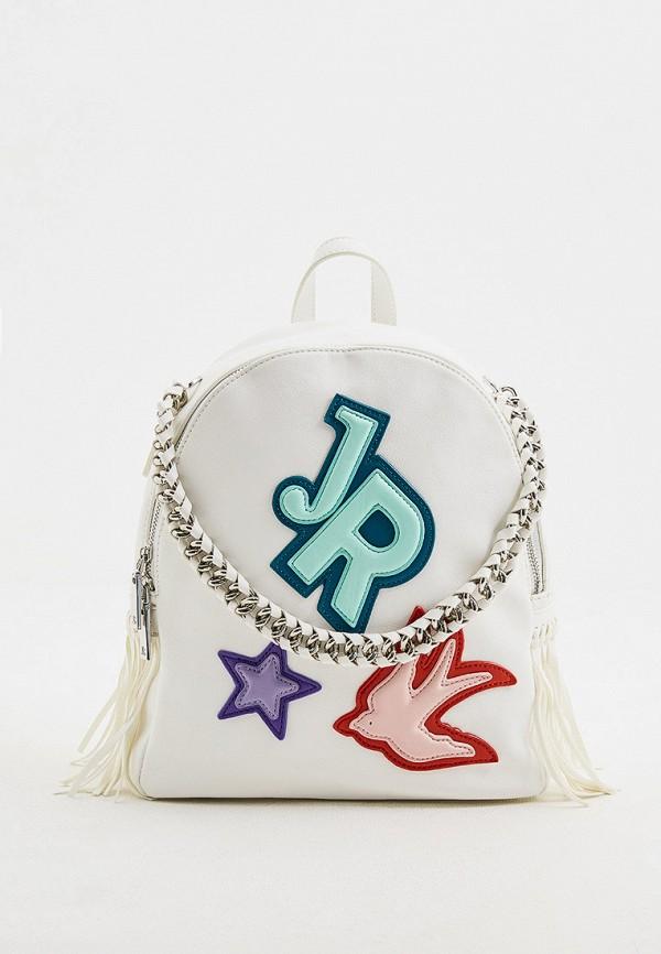 женский рюкзак john richmond, белый