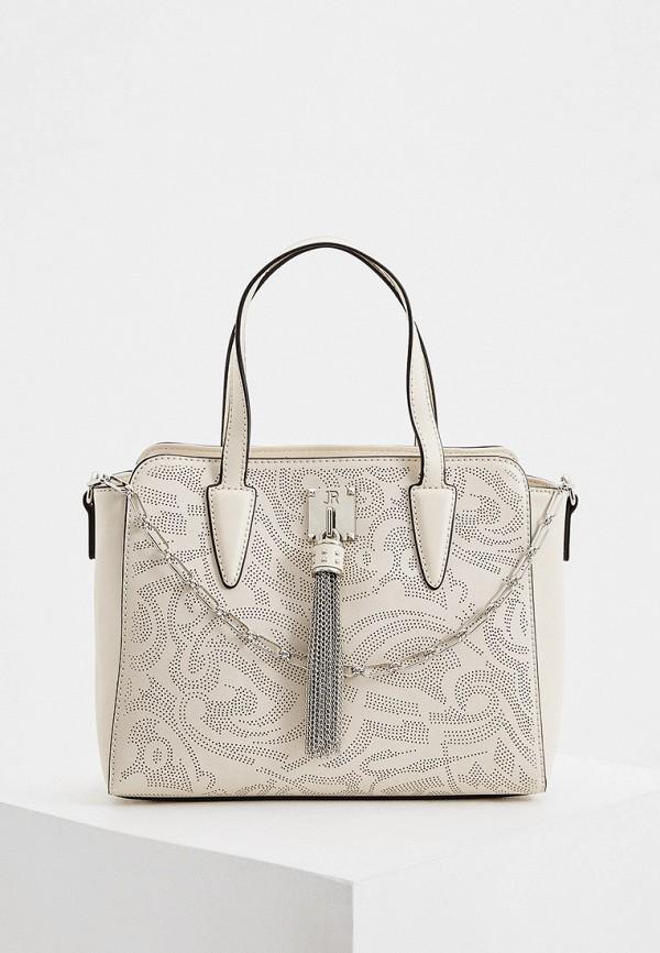 женская сумка john richmond, бежевая