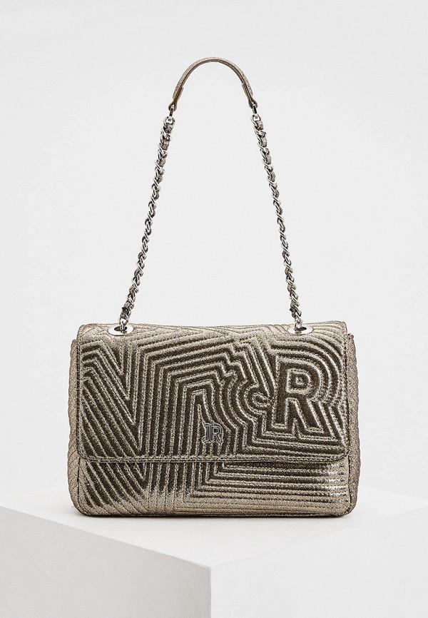 женская сумка john richmond, золотая